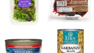 Friends and family ask for healthy pantry staples for when they're on the go. I recommend; Organic pre washed greens, canned beans, wild salmon, beets, some good extra virgin olive oil, and high quality balsamic vinegar.  Makes delicious plant based salads with veggies and protein. #plantbased #mediterraneanfood #healthyonthego #edenorganic  #earthboundfarm #melissas #traderjoes