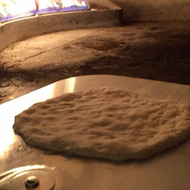 Sourdough pita bread. POP!#upperwestside #sourdough #petersbread