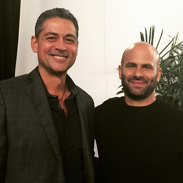 "Sam Kass, former White House chef, sustainability leader. ""Restaurants and chefs will have to consider the health of their customers, and the environment, going forward."" @chefsamkass #chefsamkass #nycwff #sustainability #sustainabilityconsultant @peterkfitness"