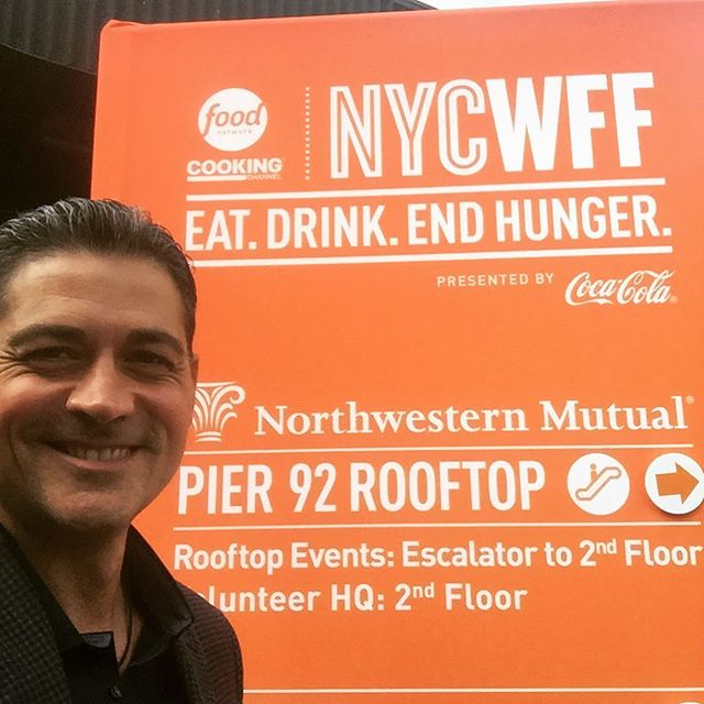 Love that kickoff was a panel discussion on sustainability. #nycwff #foodnetwork #sustainability #nycrestaurants #healthyfood #sustainabilityconsultant @peterkfitness