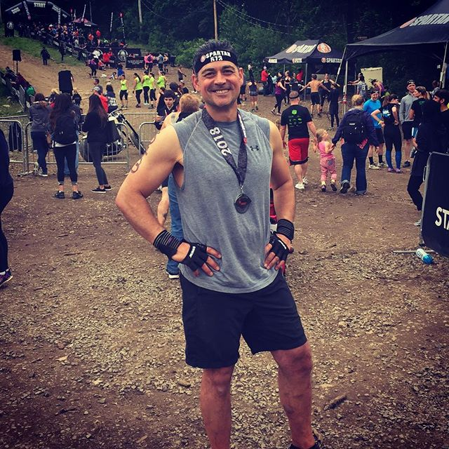 Done. #spartanrace