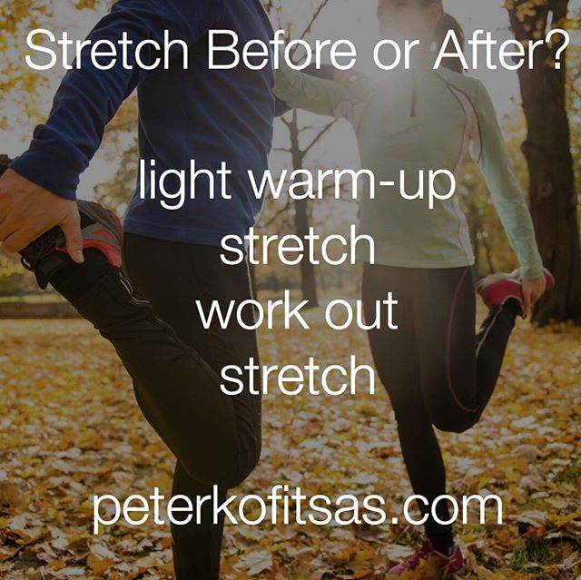 #healthcoach #healthy @peterkofitsas #stretching #workout