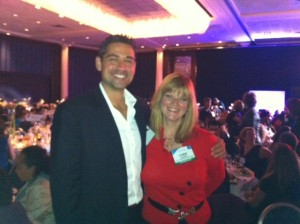 Peter K and Cyndie at work life congress