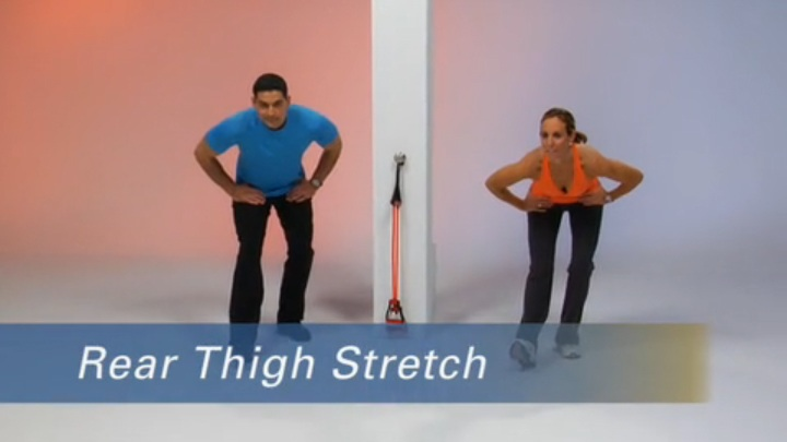 Stretches- Legs; 5 Minutes to Fitness+ Core Energy Program