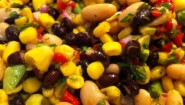 Recipe: 5 Minute Meals- Bean, Corn & Avocado Salad