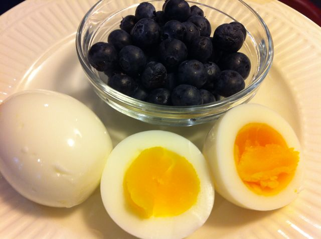 Recipe- Revolutionary Breakfast: White Eggs and Blue Berries