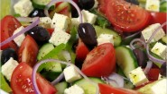 Recipe- Greek Salad in 5 Minutes