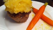 Recipe- Meatloaf Cupcakes with Mashed Potato Icing