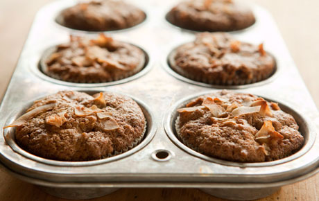 Recipe- Whole Grain Morning Glory Muffins