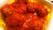 Recipe- Spaghetti Squash With Turkey Meatballs