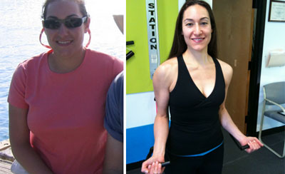 Elana, 38 &#8211; Lost 40 pounds, 3 waist sizes