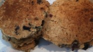 Recipe: Delicious Oatmeal, Whole Wheat Blueberry Pancakes